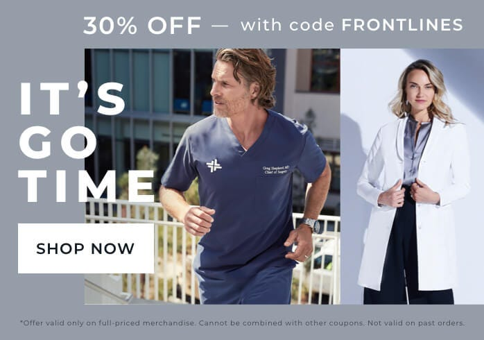 It's GO TIME 30% off with code FRONTLINES
