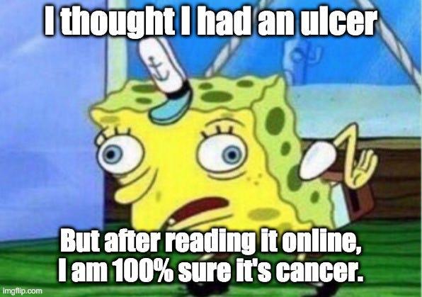 dr google spongebob meme