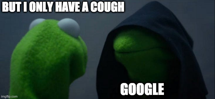 dr google kermit darkside meme