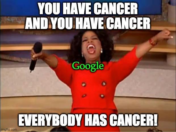 dr google oprah meme