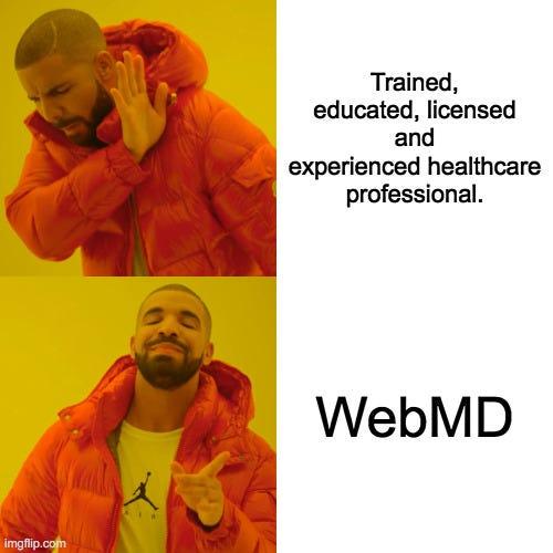 dr google drake meme