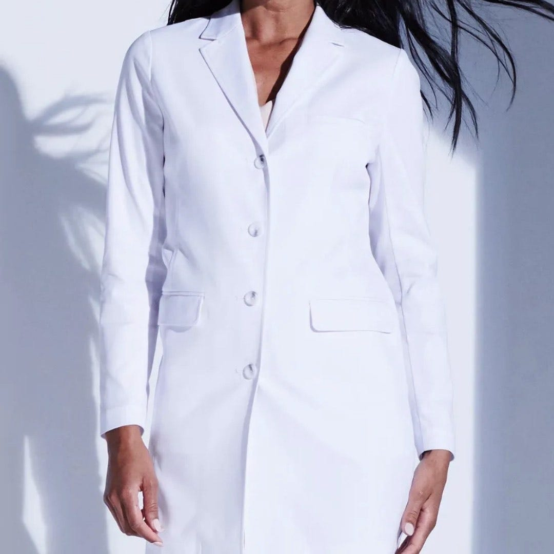 White Lab Coats from Medelita – personalized physician assistant gifts