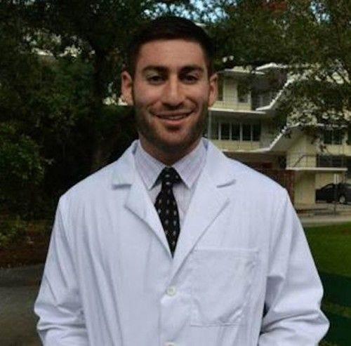 Peter Gold is a 25 year old medical student at Tulane University.