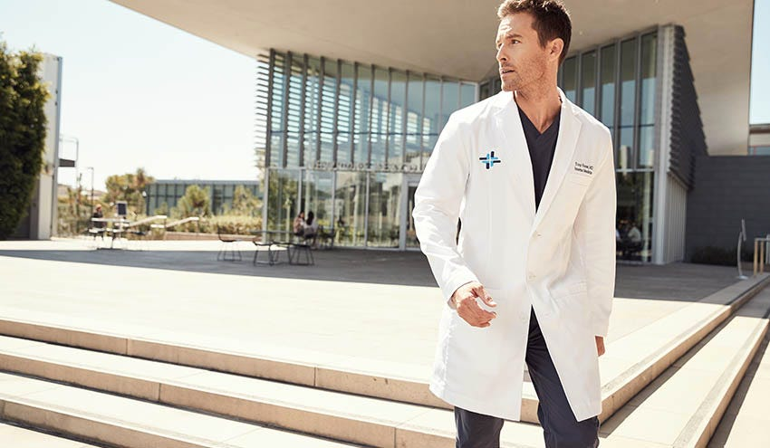 007: A Leading Lab Coat For A Leading Physician