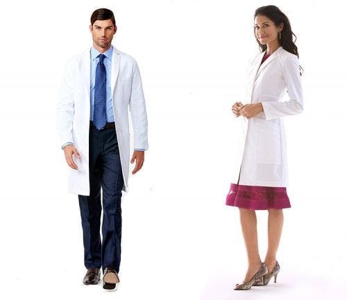 Men's Slim Fit E. Wilson Lab Coat & Women's Slim Fit Vera G. Lab Coat