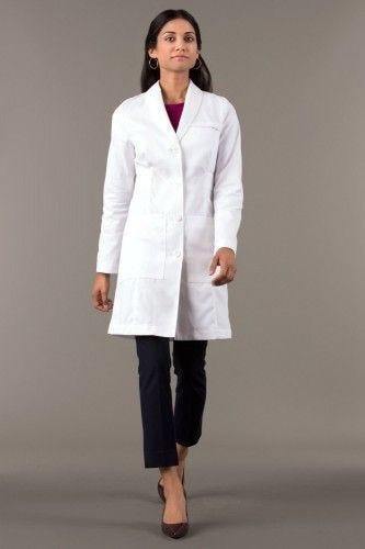 img-womens-labcoat-emma-model-fronta