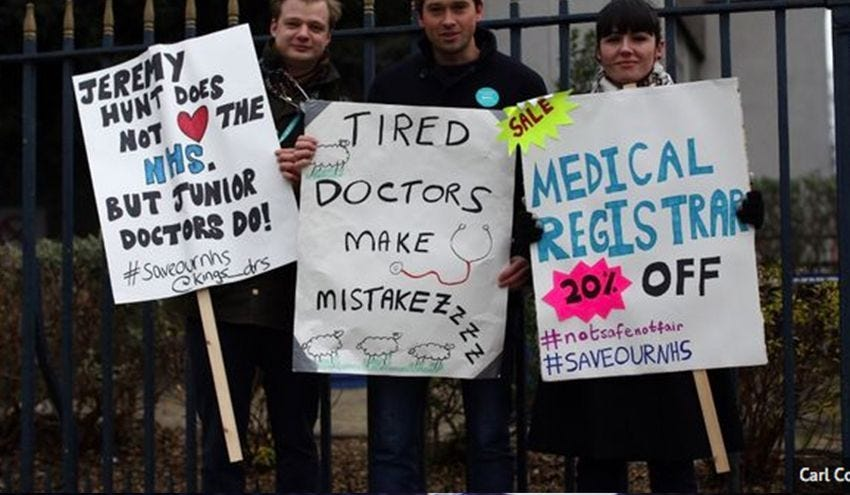 What You Need To Know About The Junior Doctors' Strike In Britain