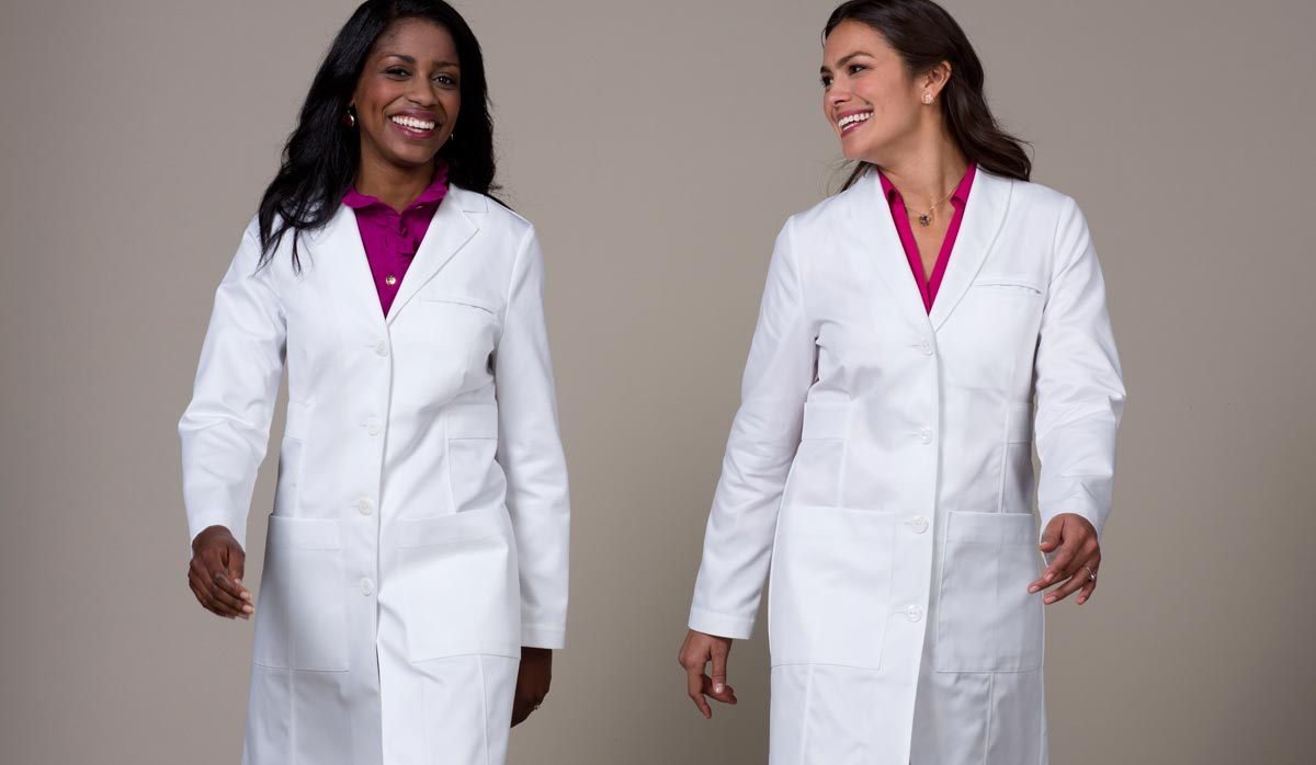 lab coat women