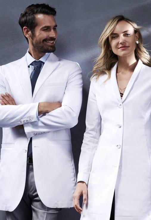 lab coats by Medelita