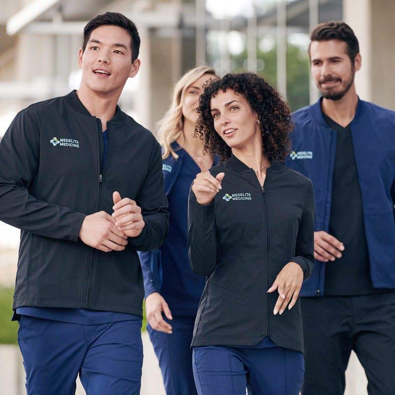 scrubs group outside