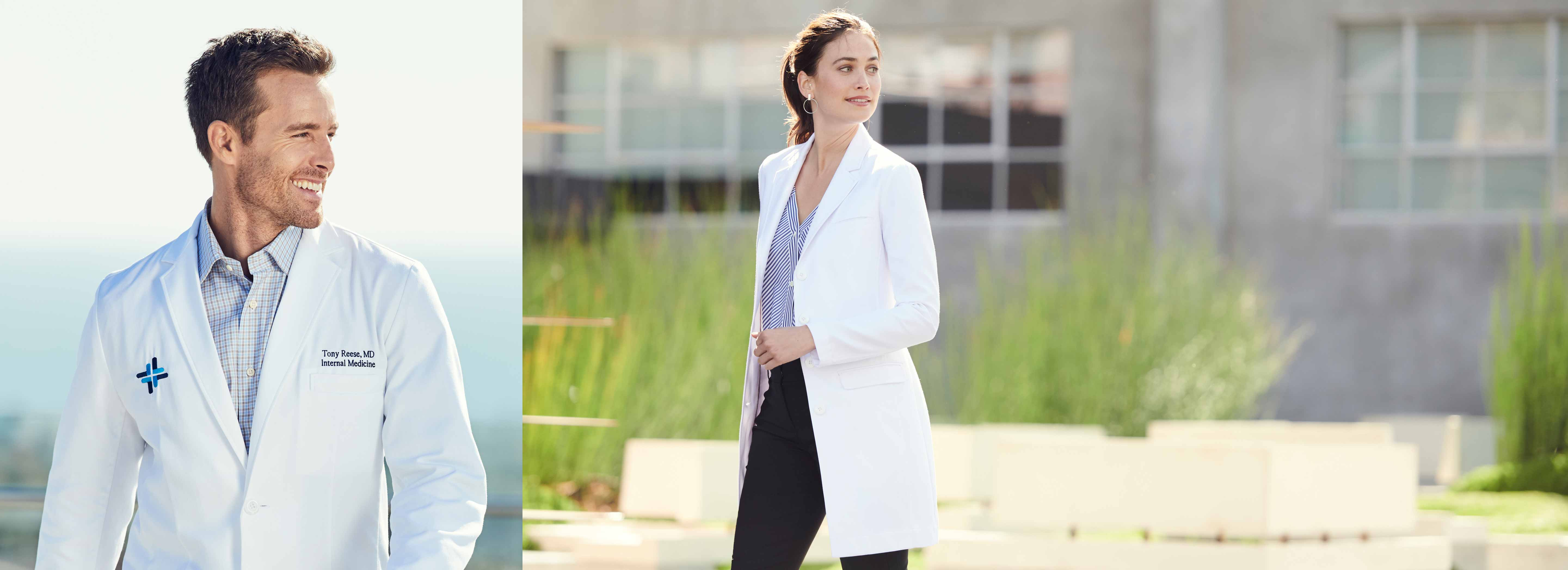 Slim-Fit Lab Coats