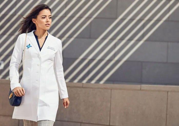 Slim-Fit Lab Coats