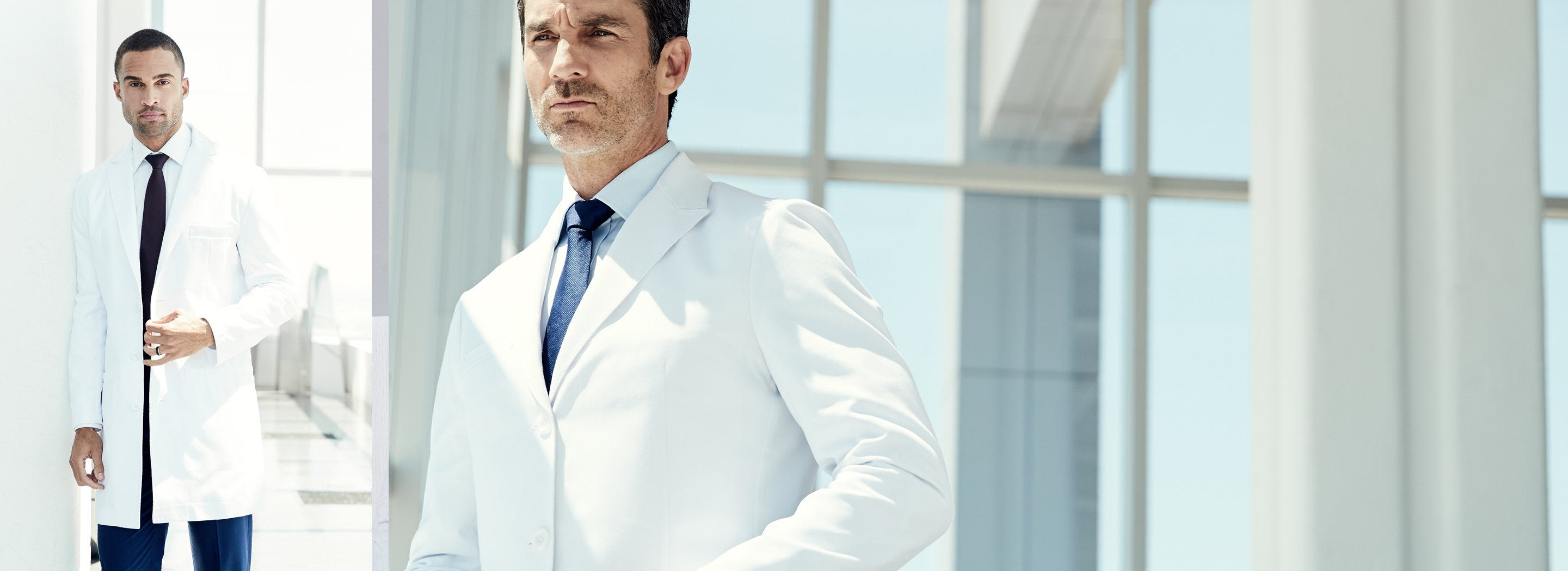 805a8755 Lab Coats - Men's White Medical Coats | Medelita