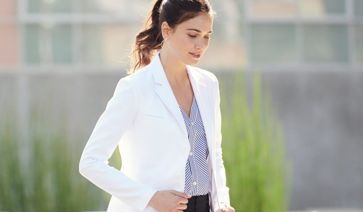 lab coats for women and men