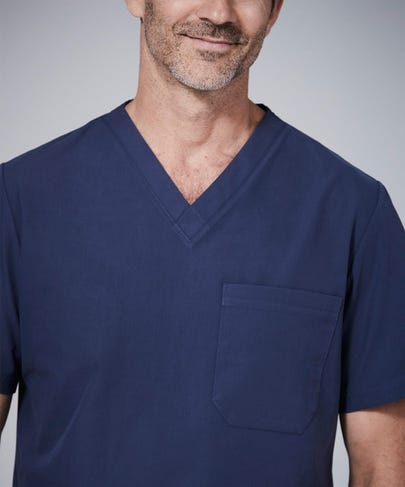 Men's Non-Stretch Scrub Top