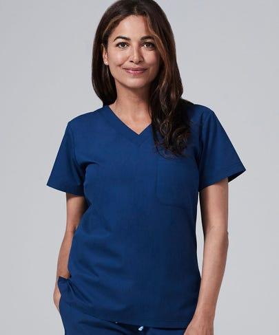 estate blue scrubs