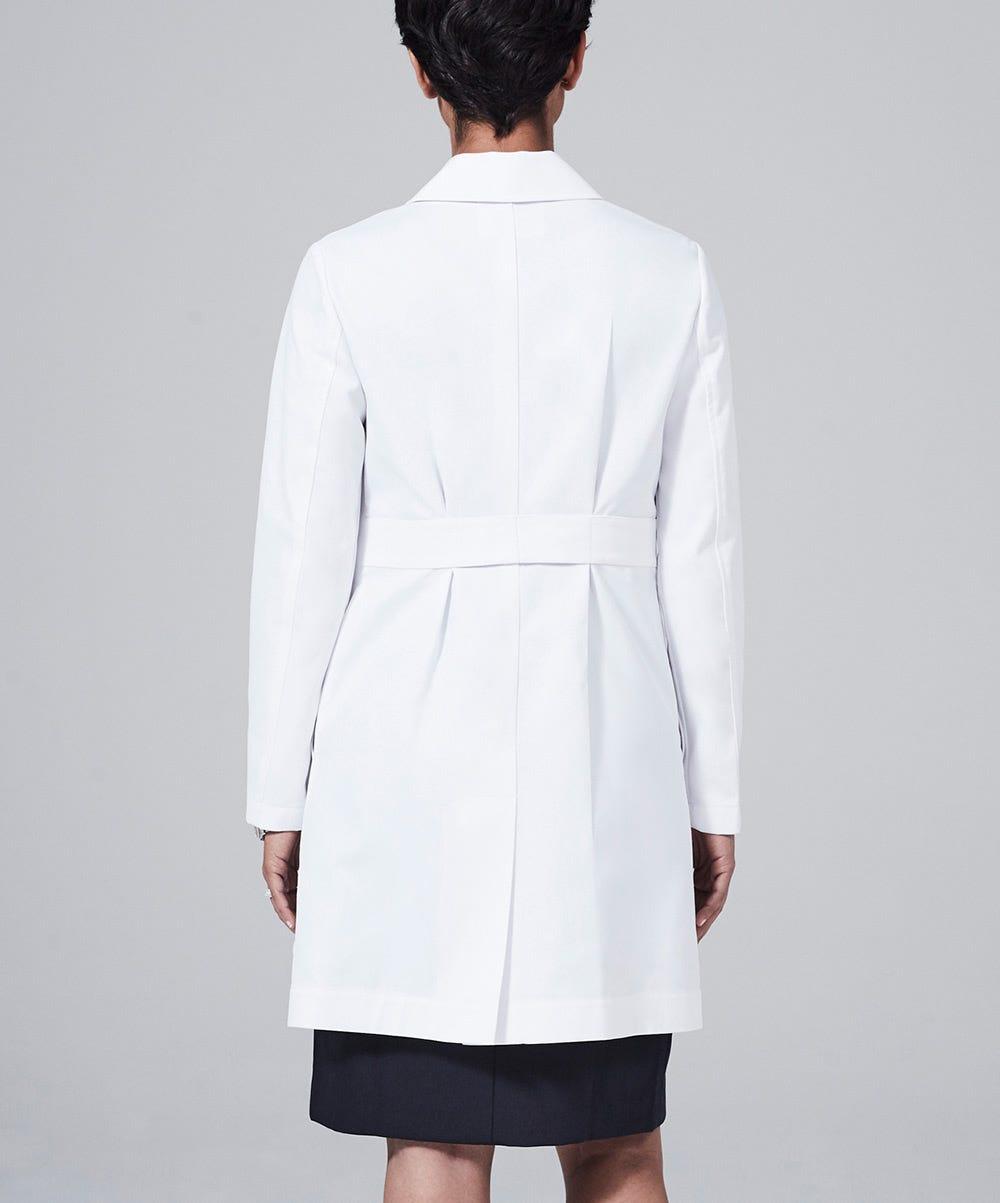 White apron for lab -  M3 Ellody Lab Coat Petite Fit