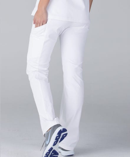 Delta White Pants
