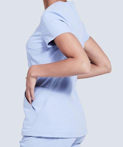 Ceil blue womens scrubs