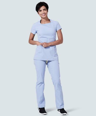 ceil blue nursing scrub pants