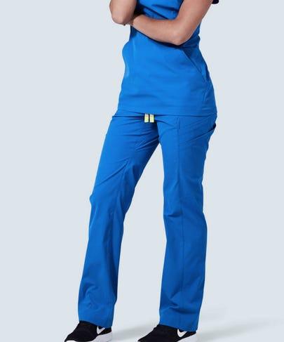 Royal Blue Women's Delta Scrub Pants