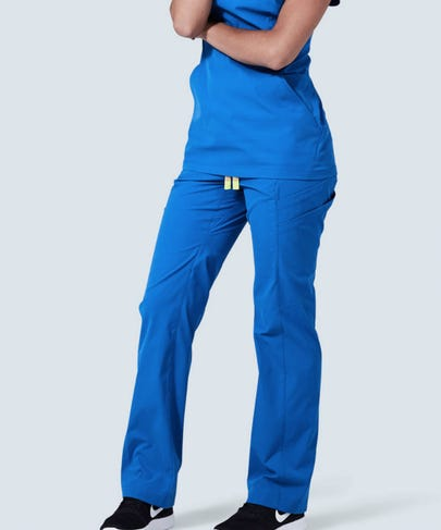 Royal Blue Women's Delta Scrub Pants