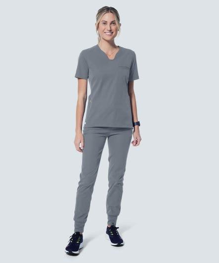 Helio Women's Jogger Pants-Grey-XXS