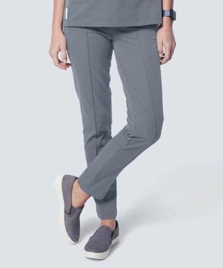 Women's Pixel Scrub Pants-Grey-XXL