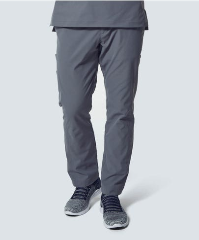 Men's Grey Scrub Pants