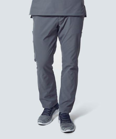 Men's Grey Scrub Pants