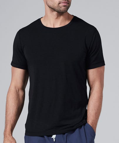 Men's Core One Short Sleeve Tee-Black-L