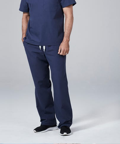 Classic Fit Mens Scrub Pants-Baltic-2XL