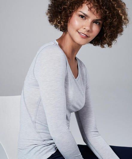 Women's Core One Tee-Light-Heather-Grey-XL