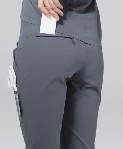 Argon Women's Scrub Pants-Grey-XS