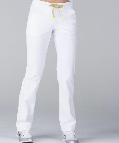 Argon Women's Scrub Pants-White-XS