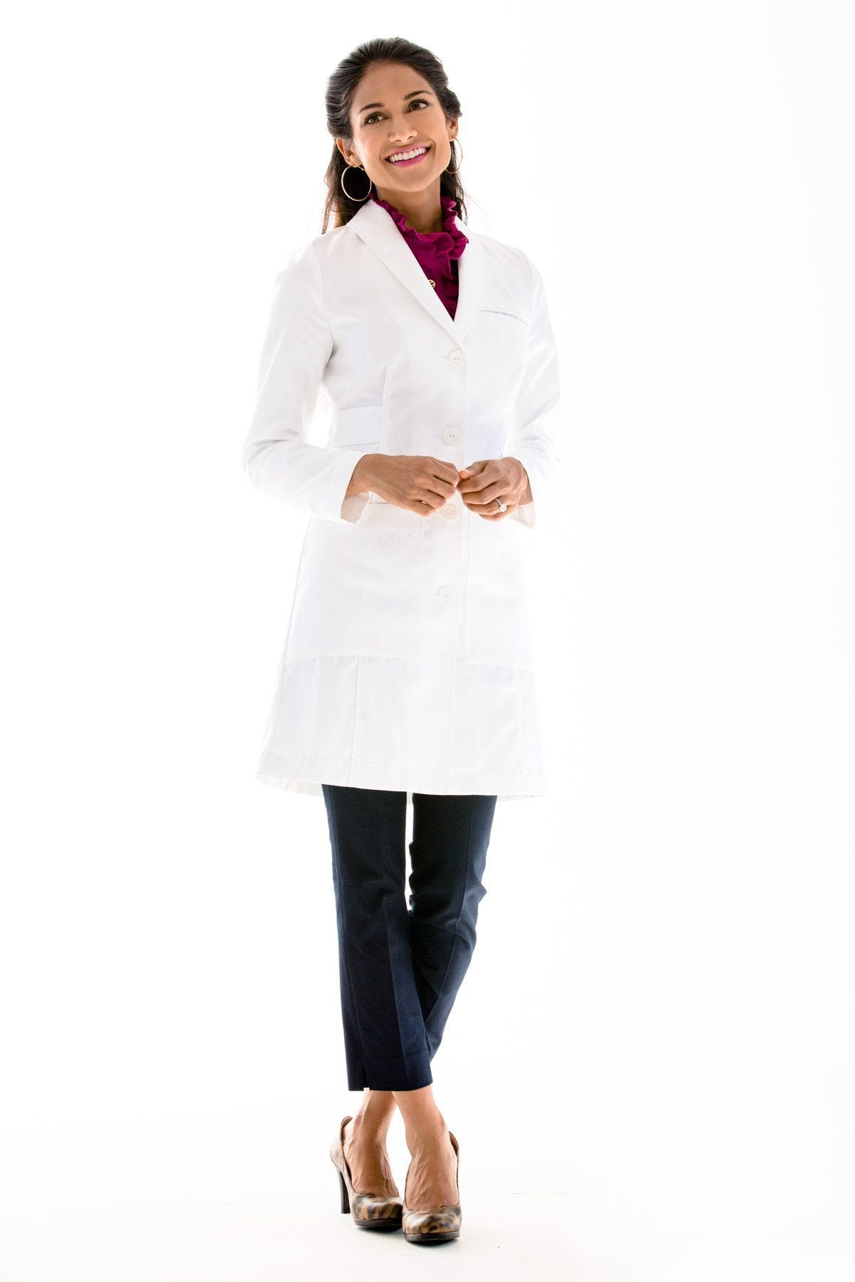 Professional Women's Lab Coats | Free Shipping & Returns