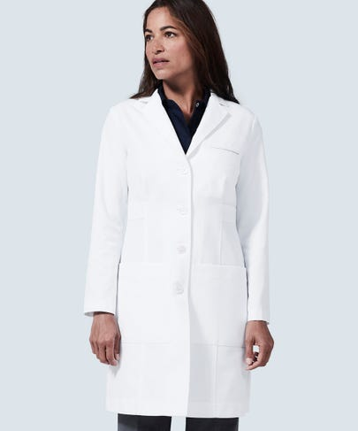 Estie Women's Lab Coat Side