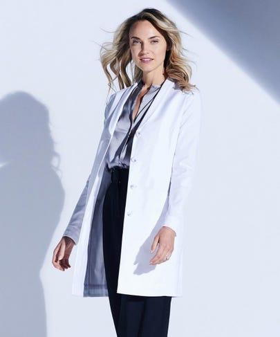 Merit P. Women's Stretch Lab Coat