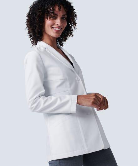 Elizabeth B. Student Lab Coat For Women