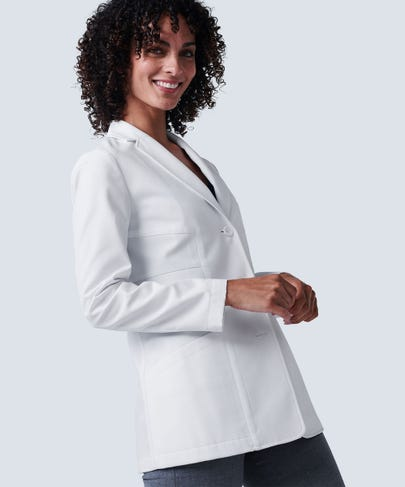 Elizabeth B. Student Lab Coat For Women