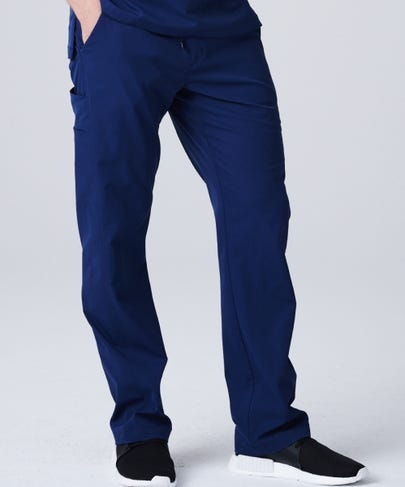 Men's Summit Scrub Pants-Navy-XS