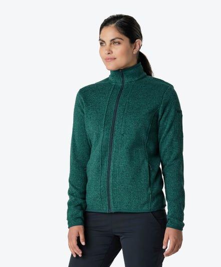 Strata Women's Fleece Jacket-Jade-XXL
