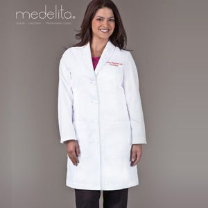 Choices In Embroidered Lab Coats