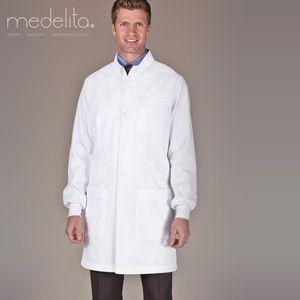 Cuffed sleeve lab coats