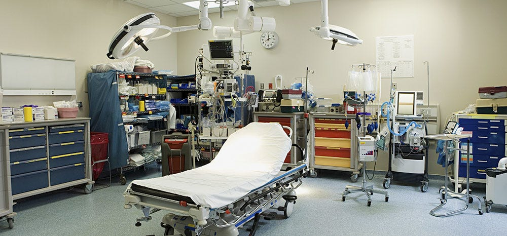 Freestanding ER Units Are Disincentivized To Open In Areas Where Medicare And Medicaid Are Common