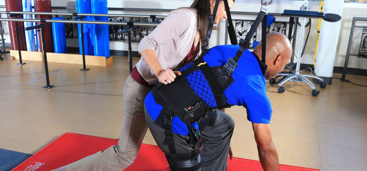 Innovative ZeroG System Helps Spinal Cord Injury Patients At Seton Recovery Center