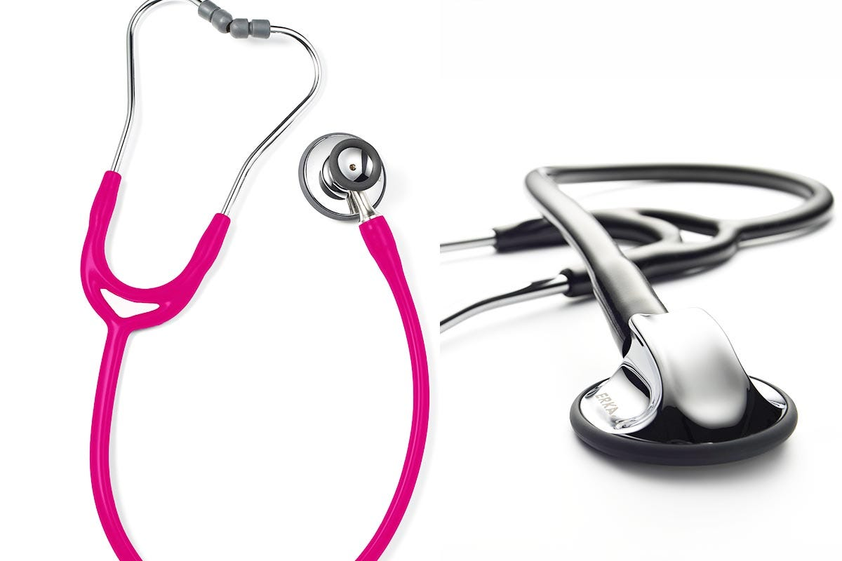 Breast Cancer Awareness Pink Stethoscopes for October With American Breast Cancer Foundation