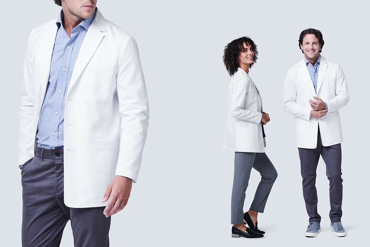 Student Length white Lab Coats