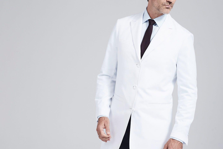 Bernard men's lab coat