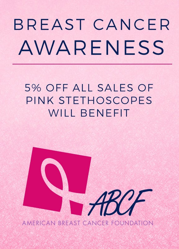 breast cancer stethoscopes